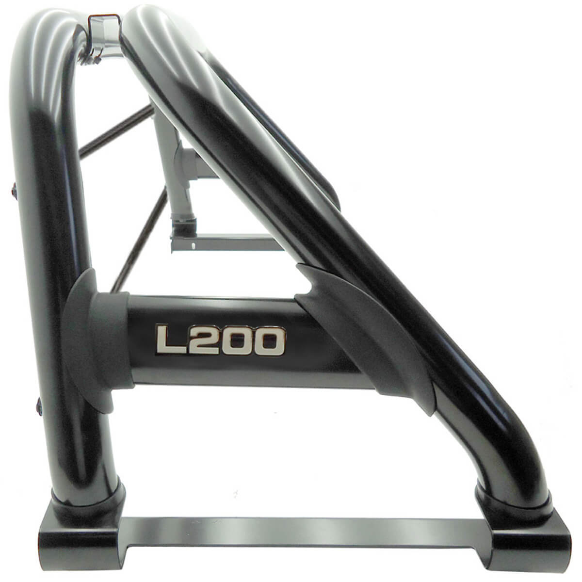 Santo antônio duplo preto L200 GL 1999 a 2005 ou L200 GLS 1999 a 2007 com barras de vidro