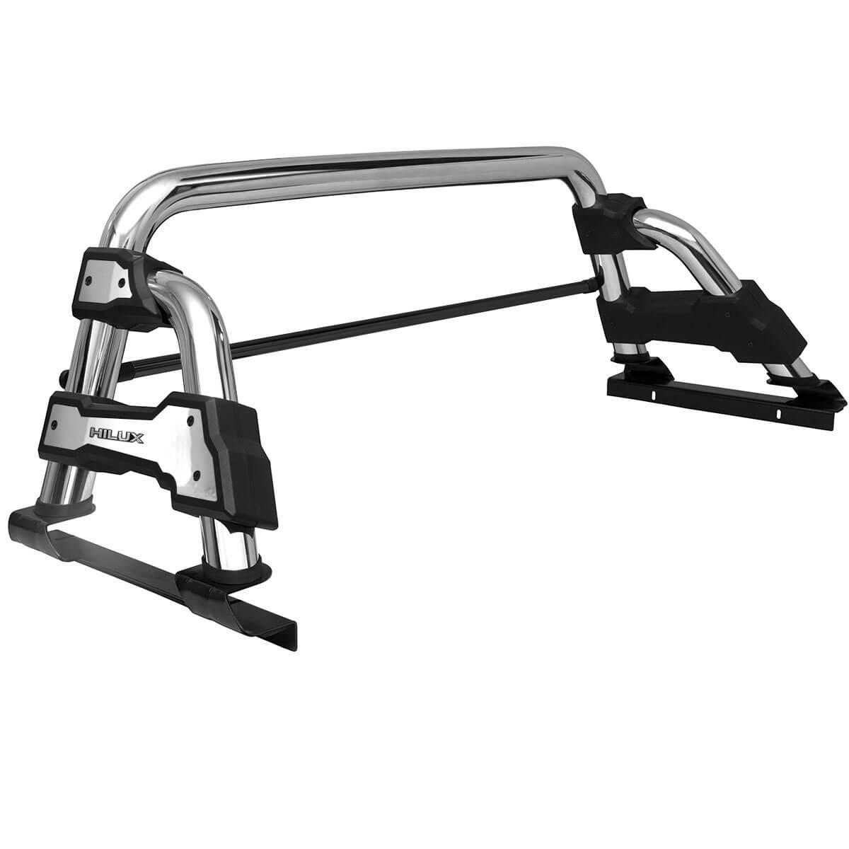 Santo antônio Track STR cromado Hilux 2005 a 2015 com barra