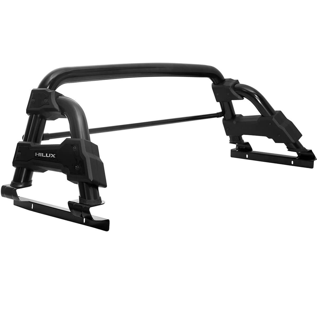 Santo antônio Track STR preto Hilux 2005 a 2015 com barra