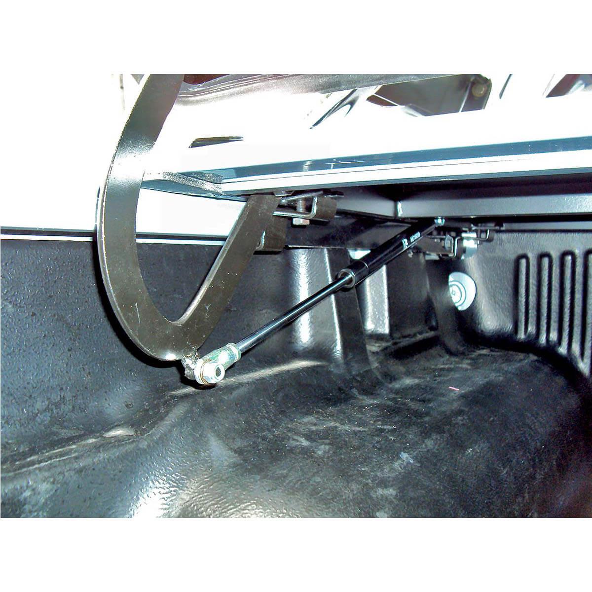 Tampão de aço capota elétrica Amarok cabine dupla 2011 a 2021