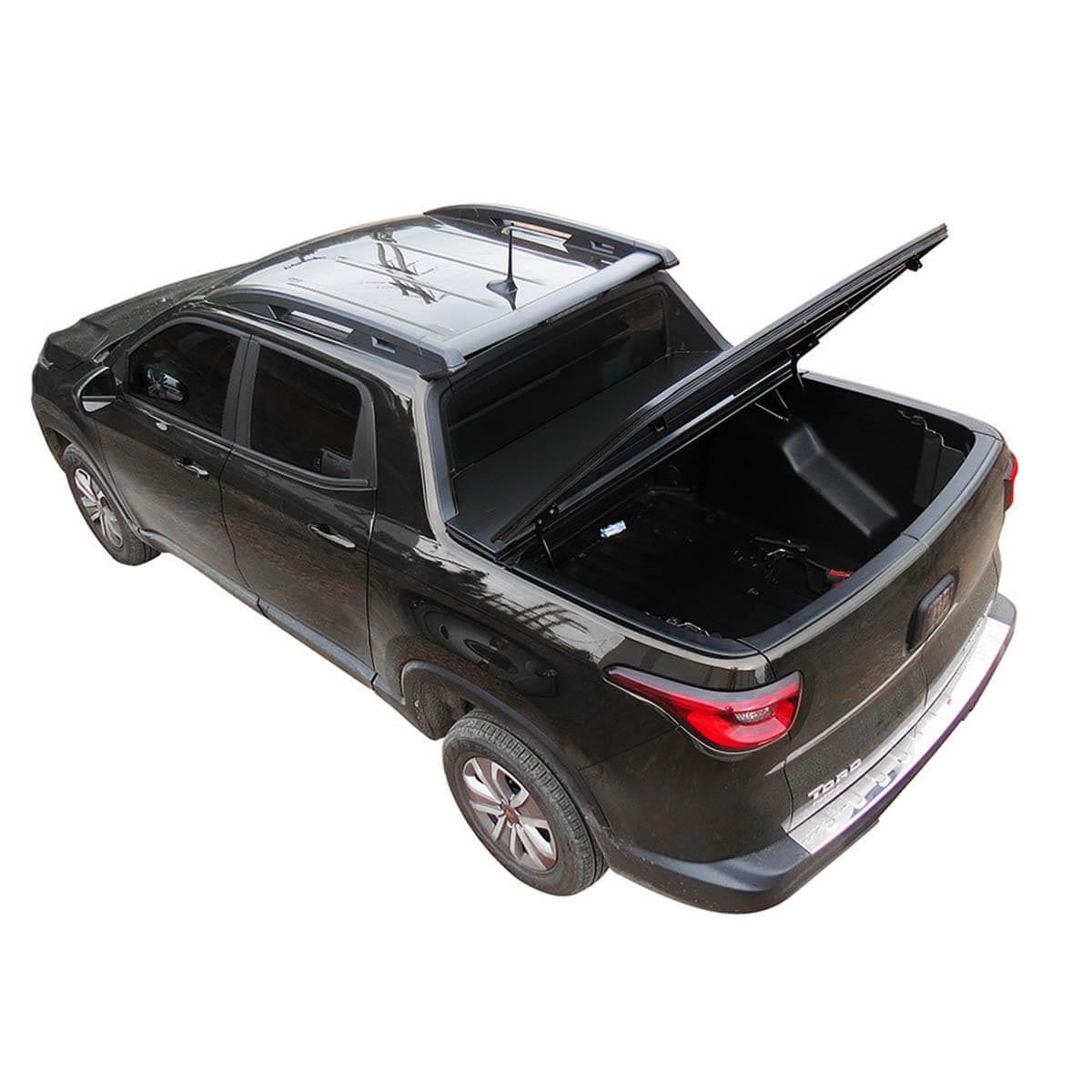 Tampão de aço capota elétrica Fiat Toro 2017 a 2021