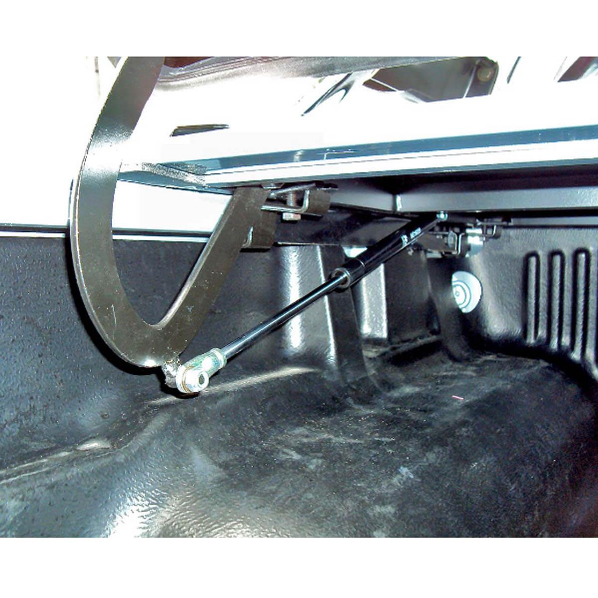 Tampão de aço capota elétrica Nova Ranger cabine dupla 2013 a 2019 LIMITED