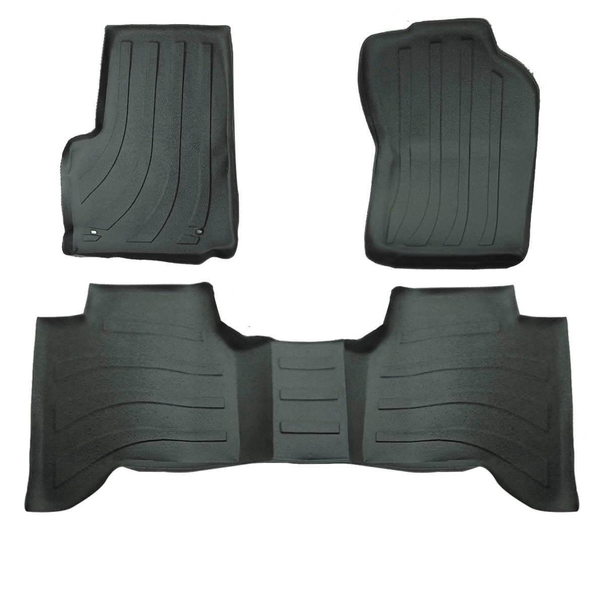 Tapete interno tipo bandeja 1,8 mm Nova S10 cabine dupla 2012 a 2020