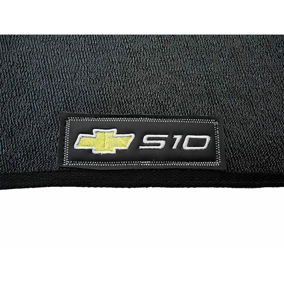Tapete personalizado em PVC Nova S10 cabine dupla 2012 a 2022