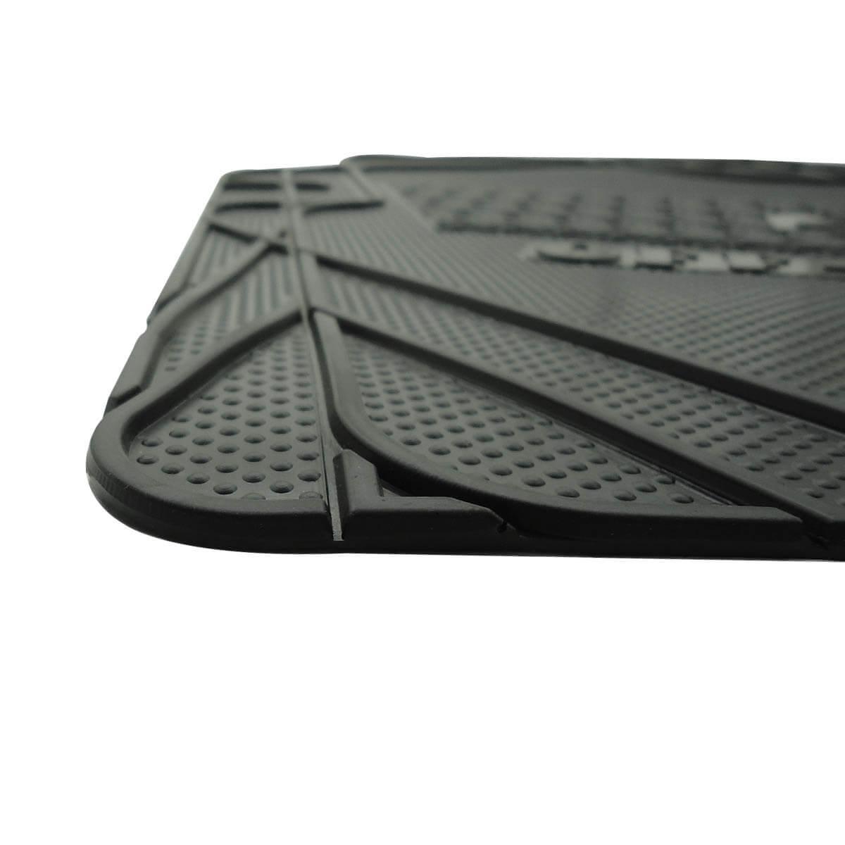 Tapete borracha PVC virgem Nova S10 cabine dupla 2012 a 2022