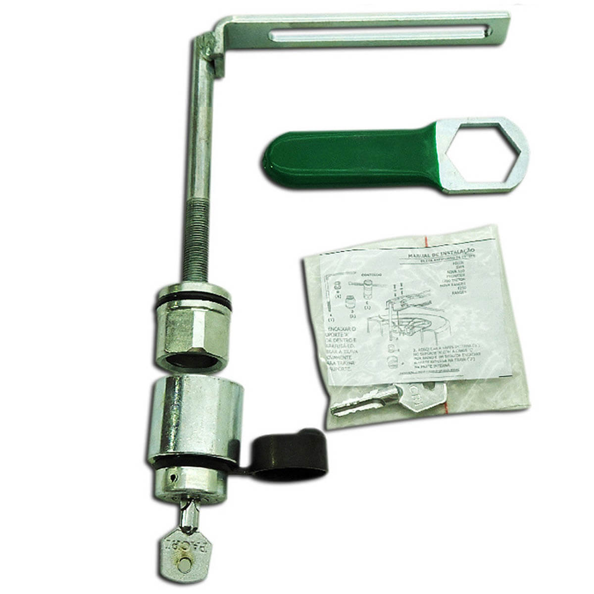Trava de estepe com chave F250 1998 a 2011