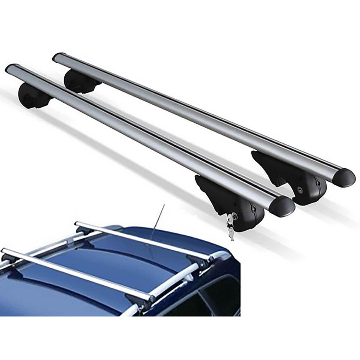Travessa rack de teto Belluno Kiussi com chave IX35 2011 a 2022