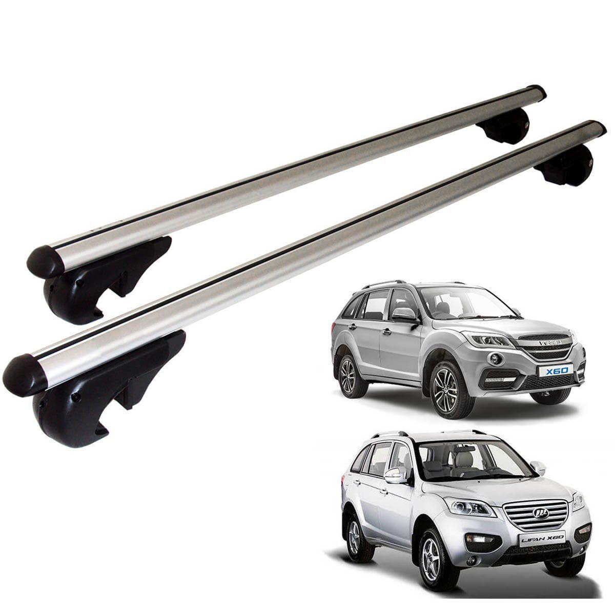 Travessa rack de teto Belluno Kiussi com chave Lifan X60 2013 a 2019