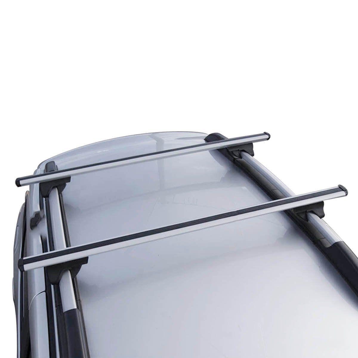 Travessa rack de teto Bepo Eros prata Peugeot 206 SW 207 SW 207 Escapade 307 SW