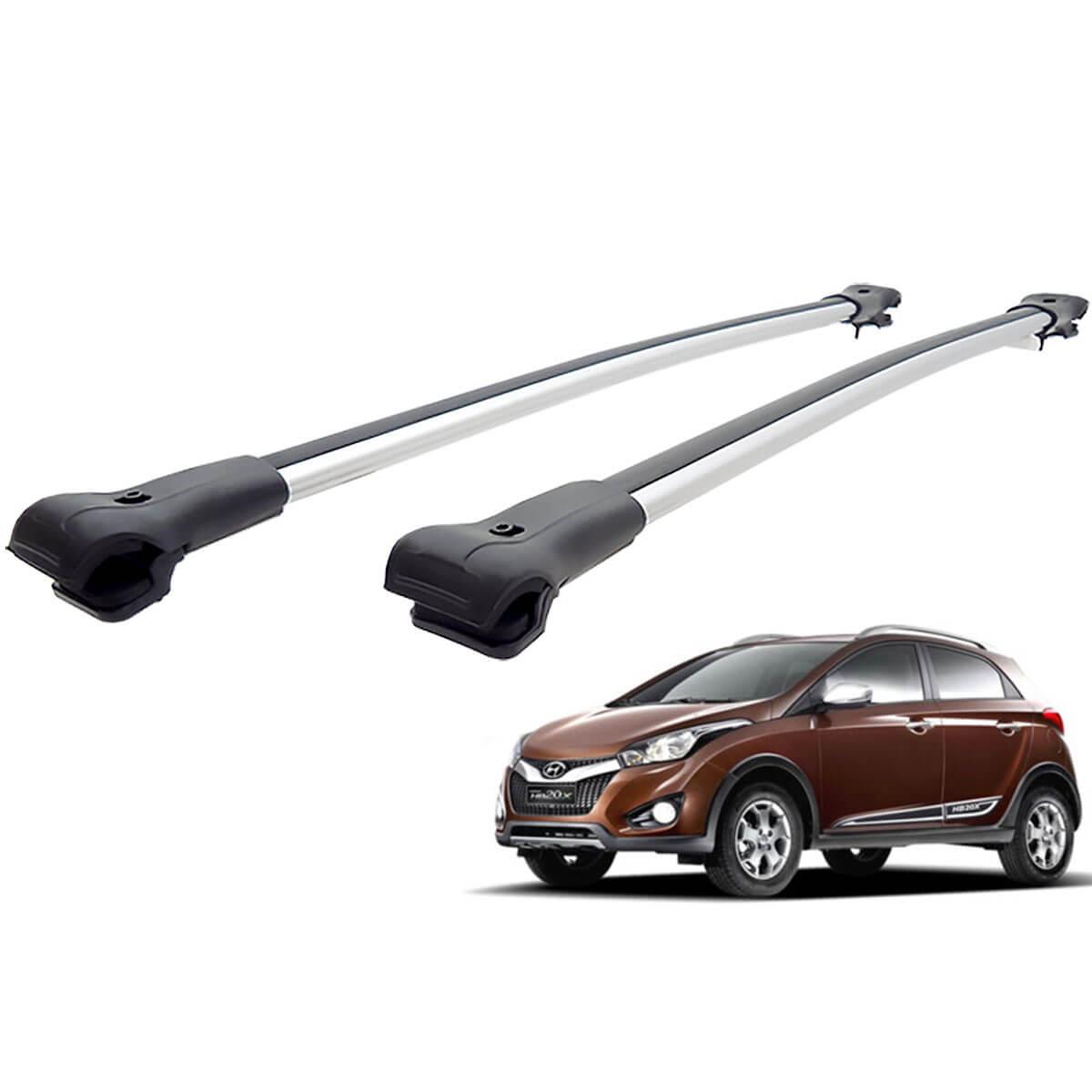 Travessa rack de teto larga alumínio HB20X 2014 a 2019