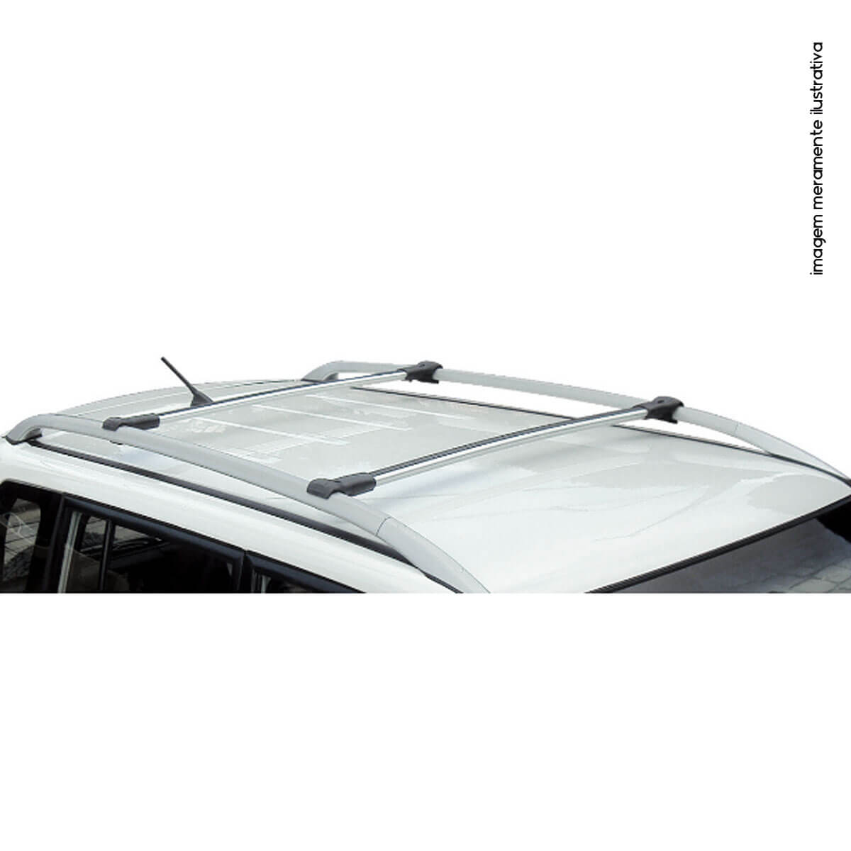 Travessa rack de teto larga alumínio IX35 2011 a 2021