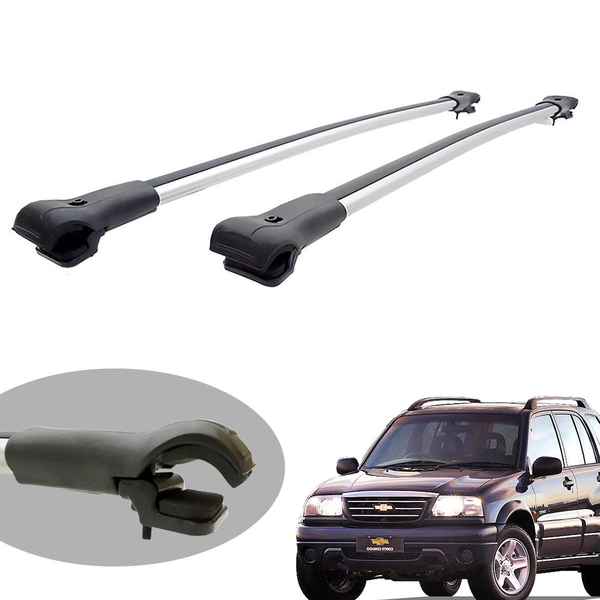 Travessa rack de teto larga alumínio Tracker 1999 a 2009