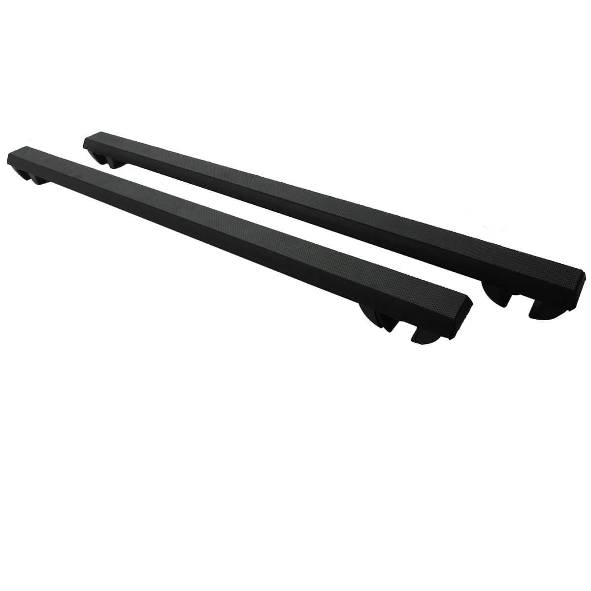Travessa rack de teto Long Life Grip 1,20 m Alumínio Preto
