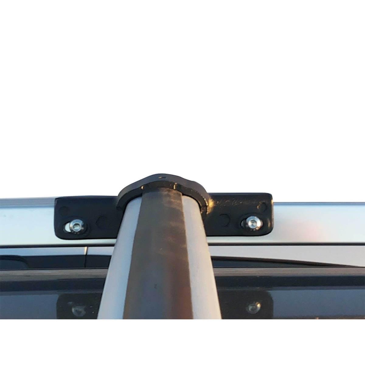 Travessa rack de teto larga anodizada Spin 2013 a 2021 fixação original