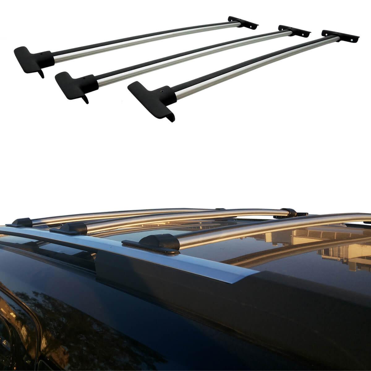 Travessa rack de teto Spin 2013 a 2019 fixação original kit 3 peças