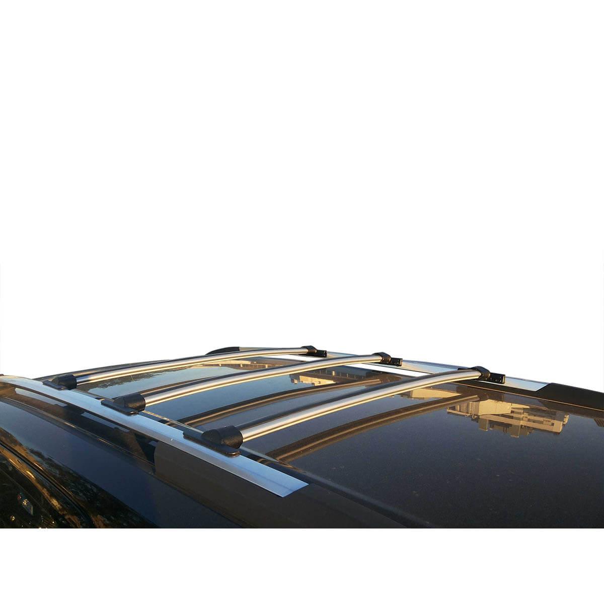 Travessa rack de teto Trailblazer 2013 a 2020 fixação original kit 3 peças
