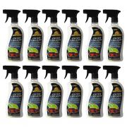 12 Frascos Cera Liquida Automotiva Spray 500ML Protetora