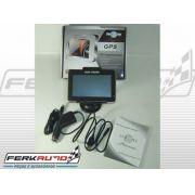 GPS Navegador Satélite multifunções - flash vídeo mp3 wma bluetooth etc