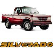 Emblema Adesivo Resinado Silverado D20 2000