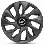 Calota Aro 14 Tuning Ds4 Grafite Logo Gm Vw