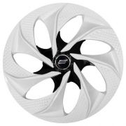 Calota Aro 14 Tuning Evolution White Black Vw Ford Gm