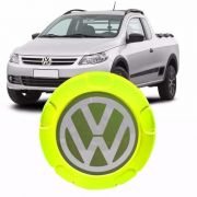 Calota Centro Roda Saveiro Trooper Vw Gm Verde