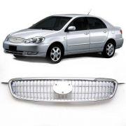 Grade Frontal Corolla Seg Fielder 2003 A 2007 - Cromada