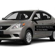 Jogo Friso Lateral Pintado Nissan Versa Cinza Magnetic