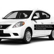 Jogo Friso Lateral Pintado Nissan Versa Branco