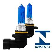 Par Lâmpada Super Branca Efeito Xenon Hb3 Homologado Inmetro
