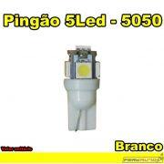Lâmpada Led Pingão 5 Leds Branca LED 5050 12v - Diadema