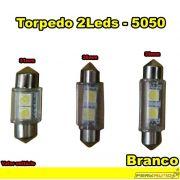 Lâmpada Led Torpedo 31mm 36mm 39mm Branco 2 Leds - Diadema