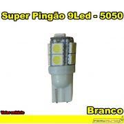 Lâmpada Led Super Pingão 9 Leds Branco LED 5050 - Diadema