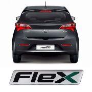 Adesivo Emblema Resinado Flex Hyundai HB20 Tucson