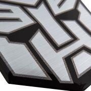 Adesivo Emblema Transformers Autobots Resinado Aço Escovado