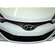 Aplique Adesivo Carbono Grade Frontal Hyundai Hb20 - Diadema