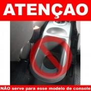 Apoio Braço Console ECOSPORT 2010 a 2012 - Couro Preto