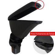 Apoio Braço Console Onix Prisma 2013 a 2018 2019 Couro Preto