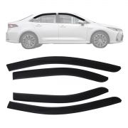 Calha Defletor Chuva Corolla 2020 - Fumê 4 Portas
