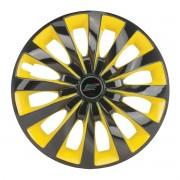 Calota Aro 13 Tuning Passat CC Rosca Yellow + Emblema