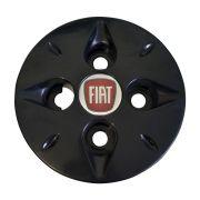 Calota Central Fiat Uno Palio Siena Aro 13 14 Preto