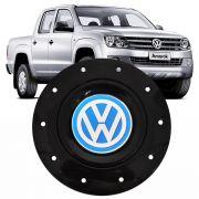 Calota Centro Roda Ferro Vw Azul Aro 14 Mod Amarok 4 furos