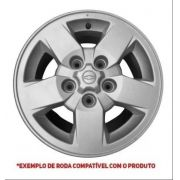 Calota Centro Roda S10 Blazer 97 A 02 Prata