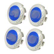 Calotinha Miolo De Roda 51mm - Emblema Azul