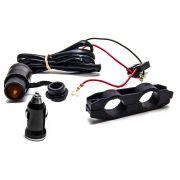 Carregador De Celular E Gps Para Motos Universal 12v 120w