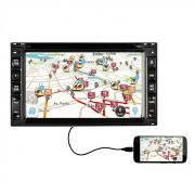 Central Multimidia P/ Carro Usb Dvd TV Rádio GPS S95 Premium