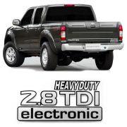 Emblema Adesivo Heavy Duty 2.8 TDI Eletronic Frontier 01 06
