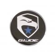 Emblema Adesivo Resinado 75mm G I Joe Aguia Falcon - Diadema