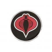 Emblema Adesivo Resinado 75mm G I Joe Cobra - Diadema