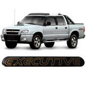 Emblema Adesivo Resinado Blazer S10 Executive 2002 A 2003